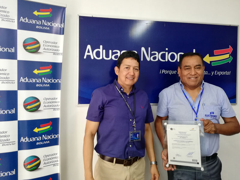 Certificación OEA