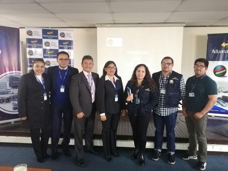 Exposición como empresa OEA